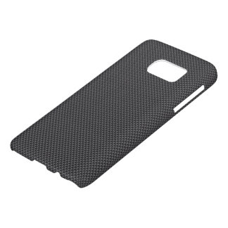 Black and Grey Carbon Fibre Polymer