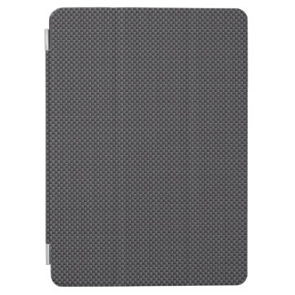 Black and Grey Carbon Fibre Polymer iPad Air Cover