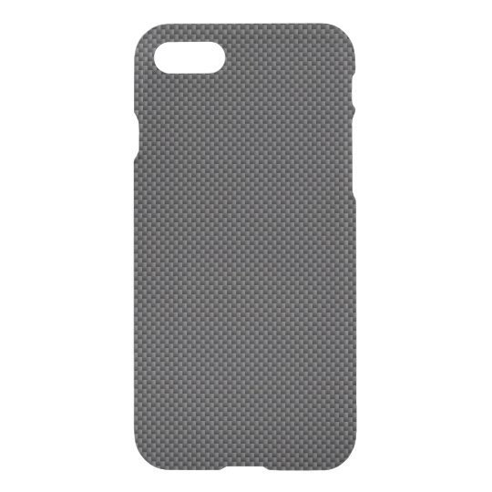 Black and Grey Carbon Fibre Polymer iPhone 7