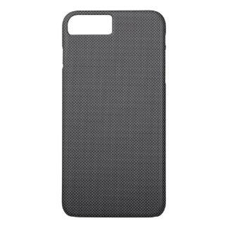 Black and Grey Carbon Fibre Polymer iPhone 8 Plus/7 Plus Case