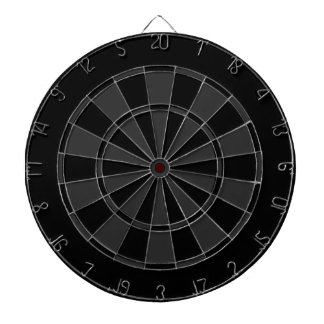 Black and Grey Dartboard