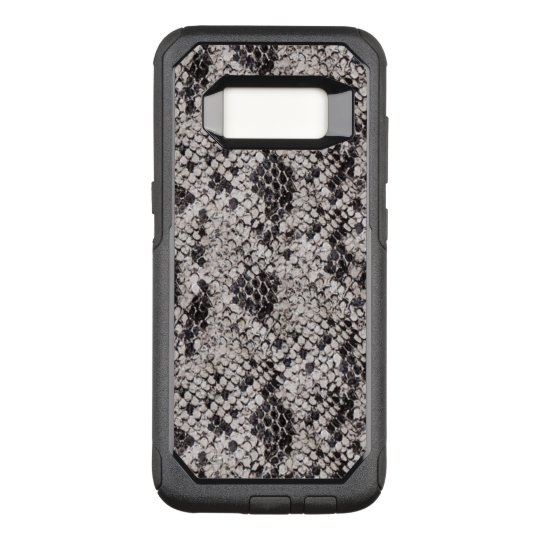 Black and Grey Snake Skin OtterBox Commuter Samsung