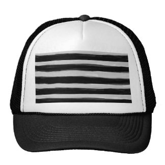 Black and Grey Stripes Cap