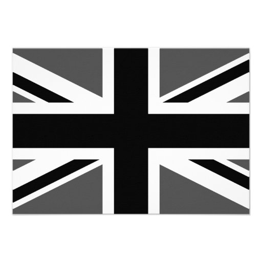 Black and Grey Union Jack Announcement