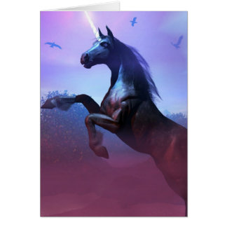 Black and Majestic Card