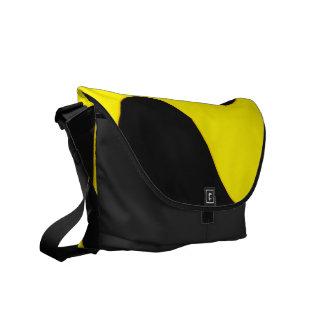 Black and Nu Gold Smooch Bag Messenger Bag