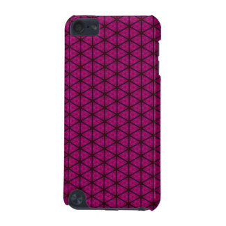 Black and Pink Hexagon iPod Touch 5G Cover