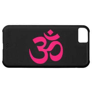 Black and Pink Om Symbol iPhone 5C Case