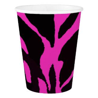 Black and pink zebra jungle animal fashion modern