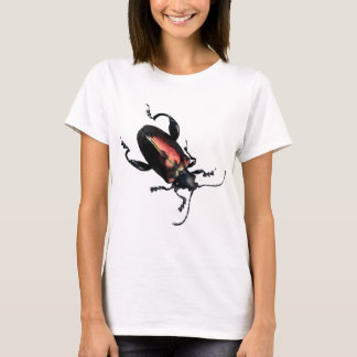 Black and Red Beetle bug T-Shirt