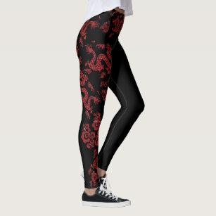 72e519cadcdff Women's Red Dragon Leggings & Tights | Zazzle UK