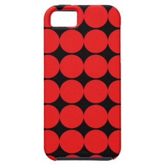BLACK AND RED DIAMONDS CASE FOR THE iPhone 5