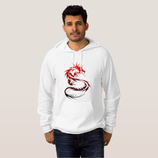 Black and Red Dragon Hoodie