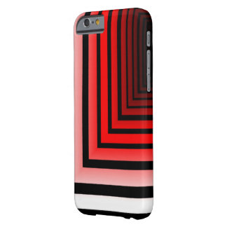 Black and Red Lines iPhone 6 case