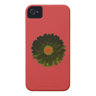 Black and Red Marigold Blackberry Bold Case