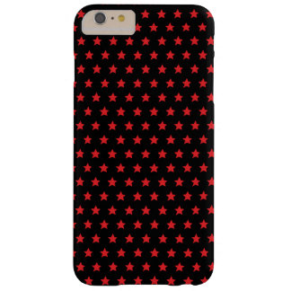 Black and Red Stars Phone Case