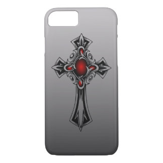 Black and Red Tribal Cross Apple iphone 7 Case