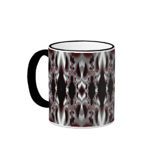 Black and Silver Elite Coffee Mugs