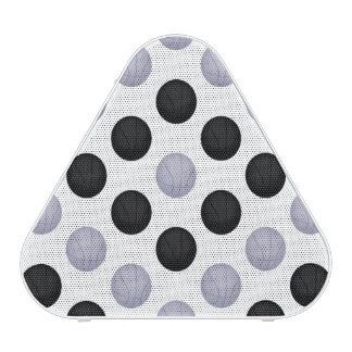 Black and Silver Gray Basketball Pattern