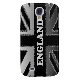 Black and Silver Grey England Union Jack HTC Vivid Cover