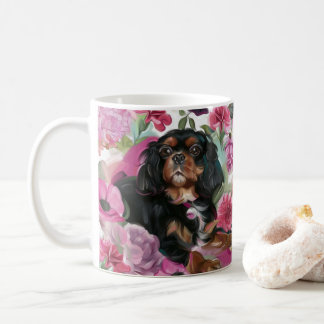 Black and Tan Cavalier coffee mug