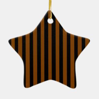 Black and Tan Christmas Ornament