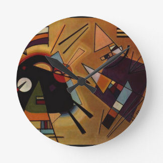 Black and Violet, Kandinsky Wall Clocks