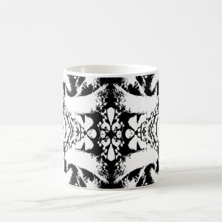 Black and White Abstract. Basic White Mug