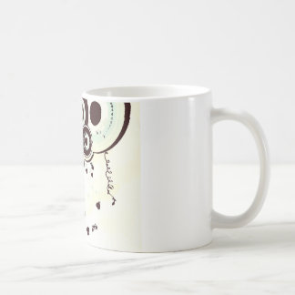 Black and White Abstract Design Coffee Mugs