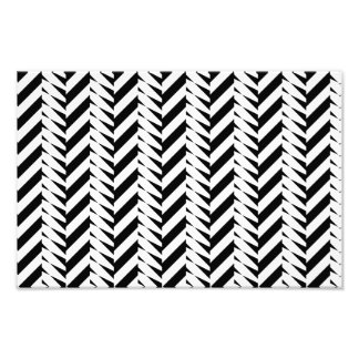 Black and white abstract design photo