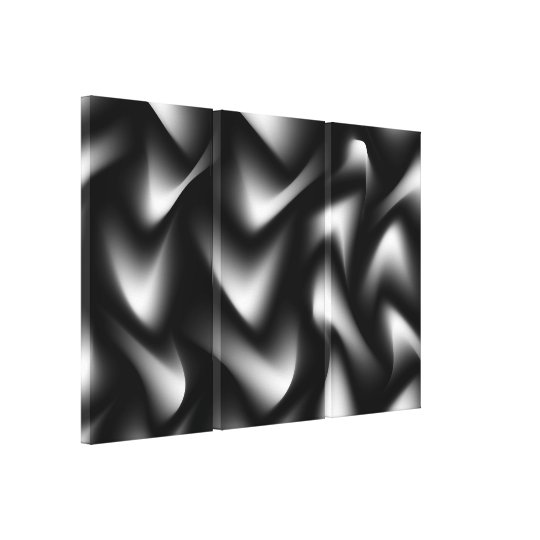 Black and White Abstract Gallery Print