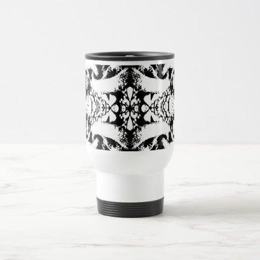 Black and White Abstract. Coffee Mug