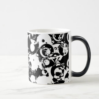 Black and White Abstract Mug