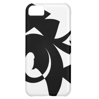 Black and White Abstract Pattern. iPhone 5C Case