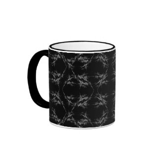 Black and White Abstract Pattern Mugs