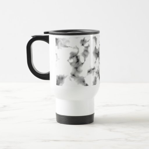 Black and white abstract pattern. mugs