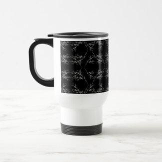 Black and White Abstract Pattern Mug