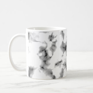 Black and white abstract pattern coffee mugs