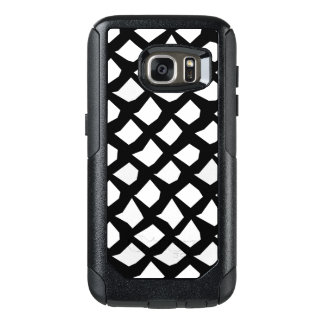Black and White Abstract Pattern OtterBox Samsung Galaxy S7 Case