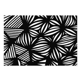 Black and White Abstract Photograph