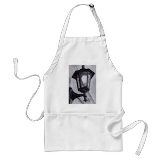 Black and White aceo Apron