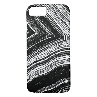 Black and White Agate | Phone Case