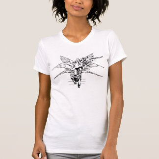 Black and White Angel Transformation T-Shirt