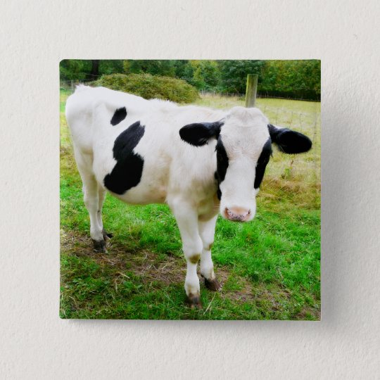 Black and White Apostrophe S Cow 15 Cm