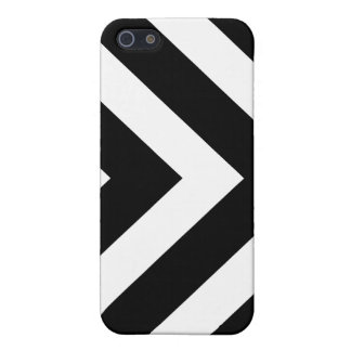 Black and white arrows chevron pattern iPhone case iPhone 5 Case