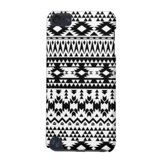 Black and White Aztec geometric vector pattern iPod Touch (5th Generation) Cover