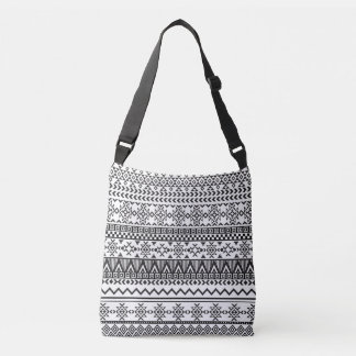 Black and White Aztec Pattern Bag