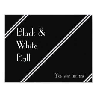 Black and White Ball Card