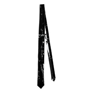 Black and White Barbed Tie