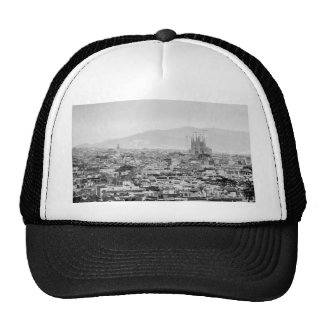 Black and White Barcelona Cap
